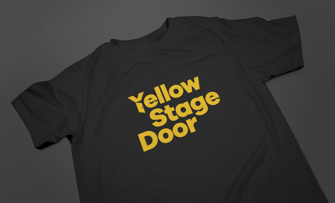 yellow-stage-door-T-shirt